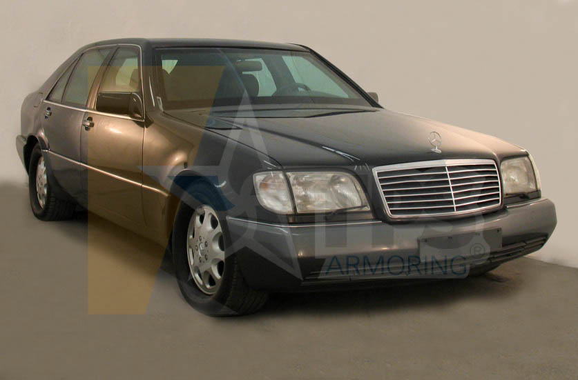 Armored mercedes benz s600 tps for Mercedes benz armored